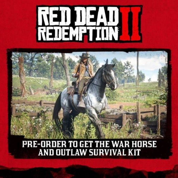 Red Dead Redemption 2 Editions Detailed for Pre-Order ...
