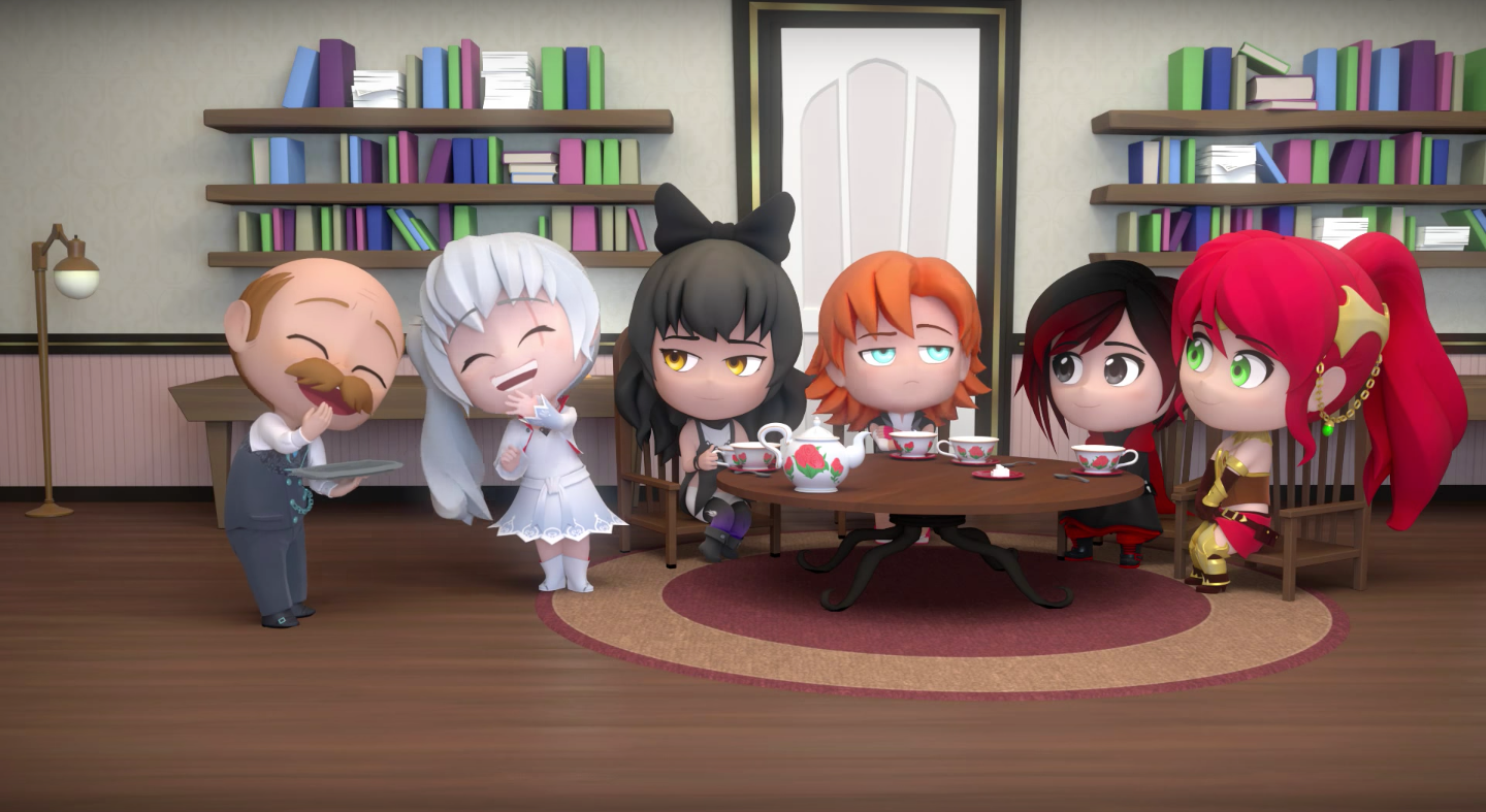 RWBY Chibi Season 3 Clip: Rooster Teeth's Comedy Series Highlights