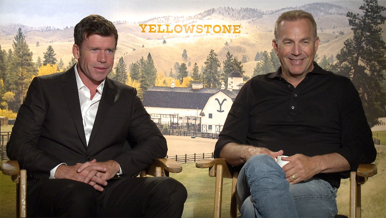 316596e47 Yellowstone: Taylor Sheridan and Kevin Costner on Working Together ...