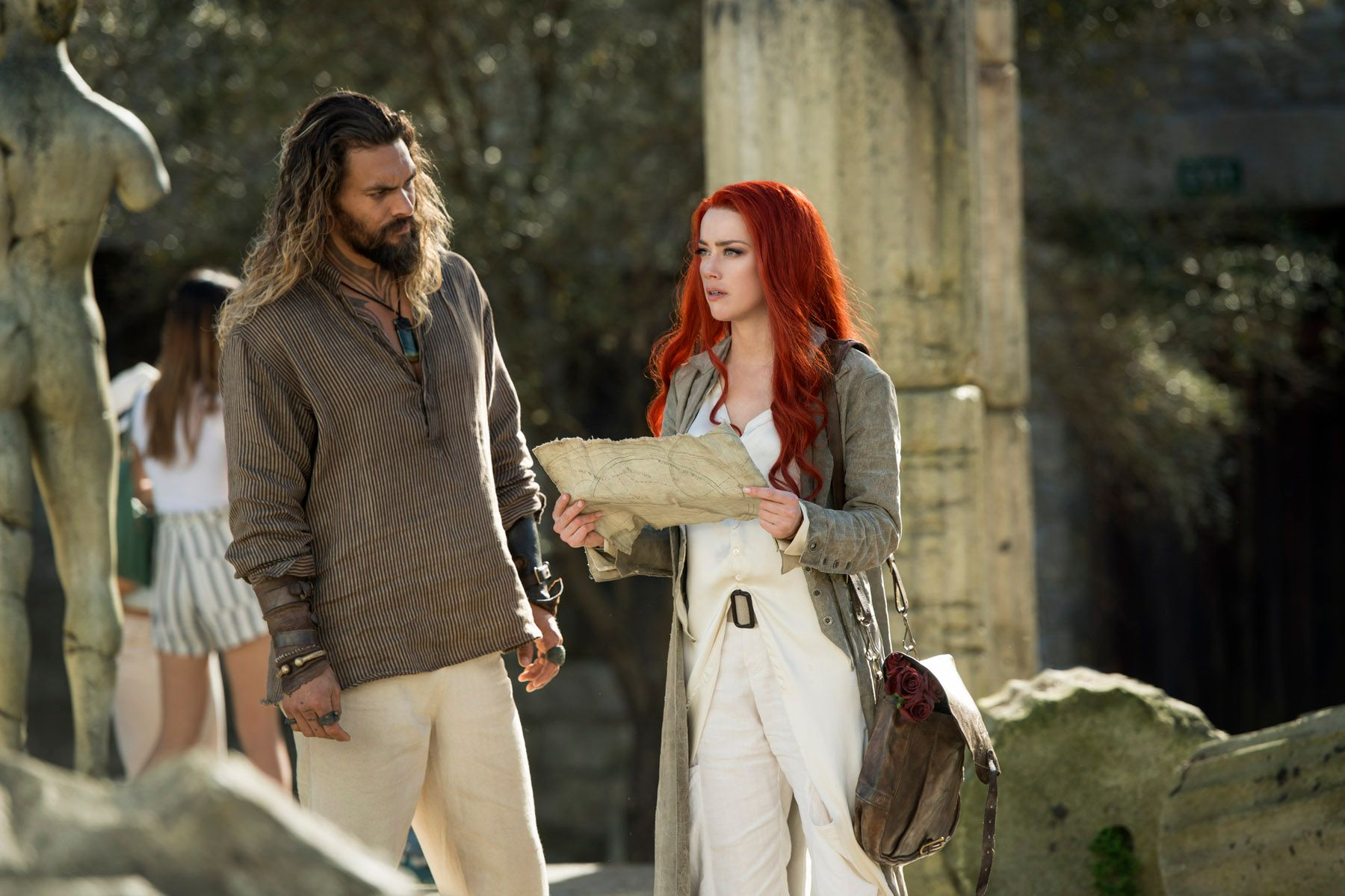 Aquaman Movie Amber Heard Jason Momoa