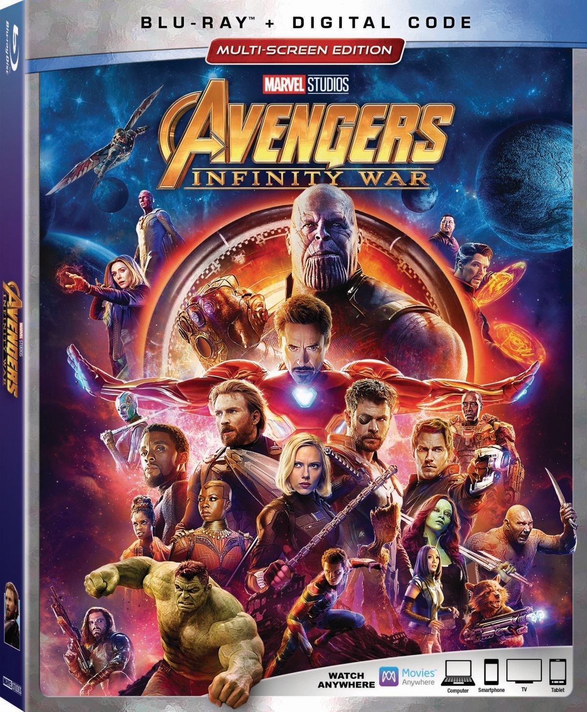 Avengers Infinity War Blu Ray Trailer Details Special Features