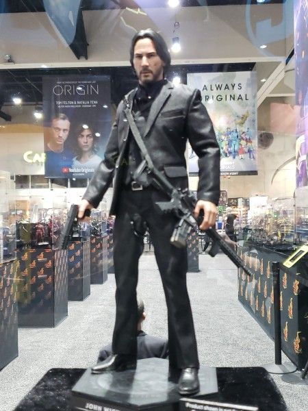 john wick sideshow toy images show a welldressed killer