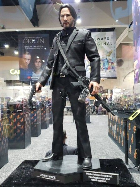 John Wick Sideshow Toy Images Show A Well Dressed Killer