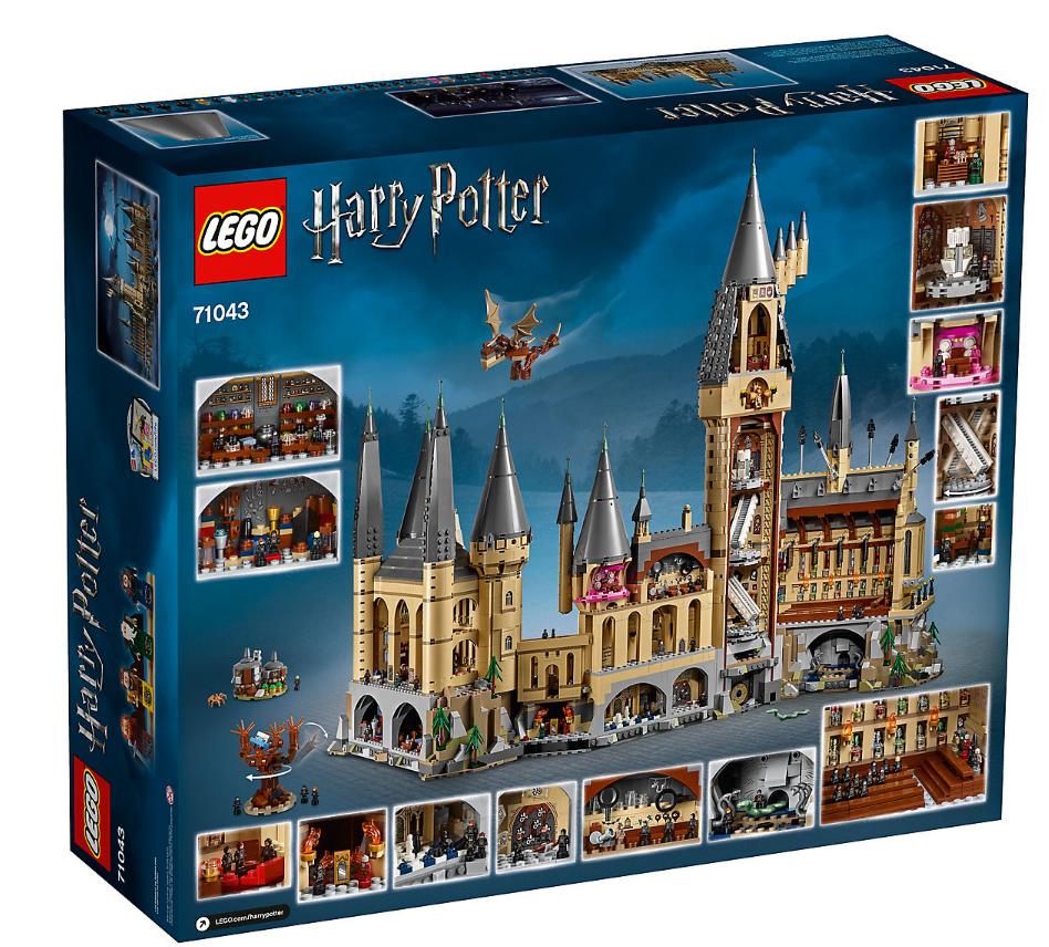 6 000 piece lego harry potter hogwarts castle costs 400 collider. Black Bedroom Furniture Sets. Home Design Ideas