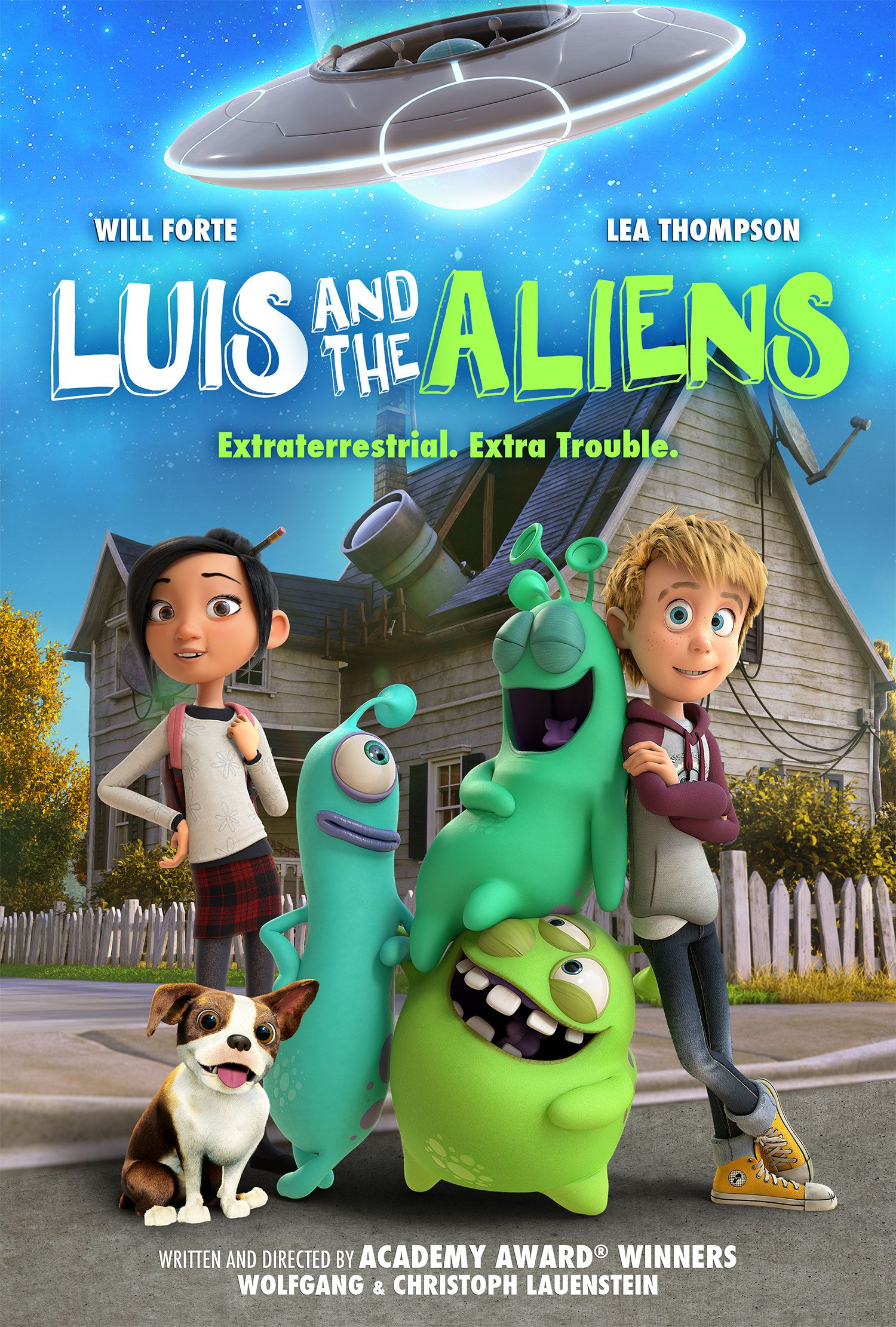 luis and the aliens trailer reveals the directv animated