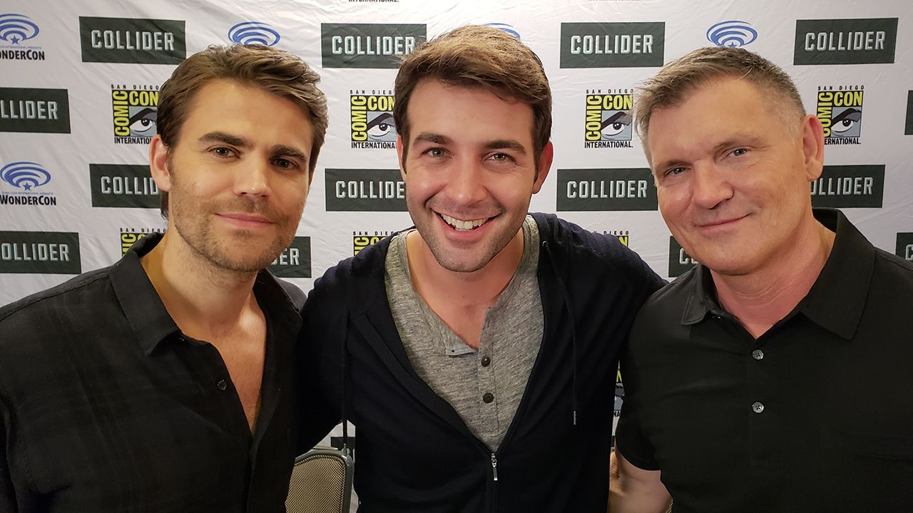 Paul Wesley and Kevin Williamson on CBS' Tell Me a Story ...