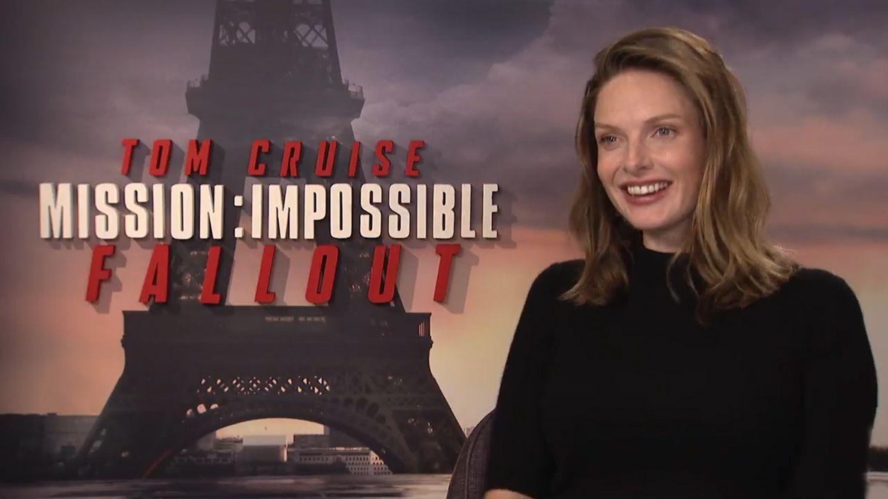 rebecca ferguson on mission  impossible  u2013 fallout and tom