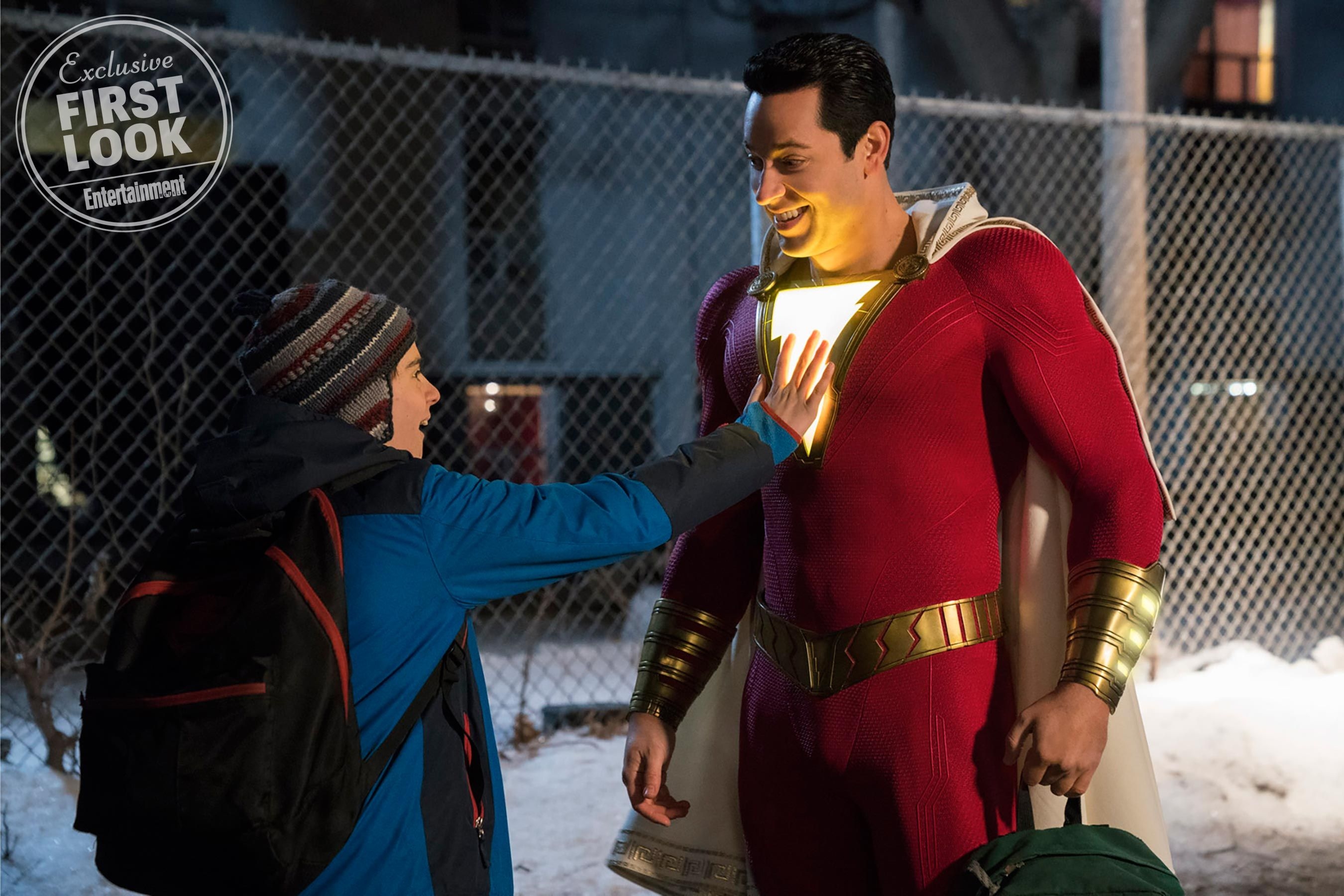 Second Official 'Shazam!' Image Reveals New Look At Zachary Levi