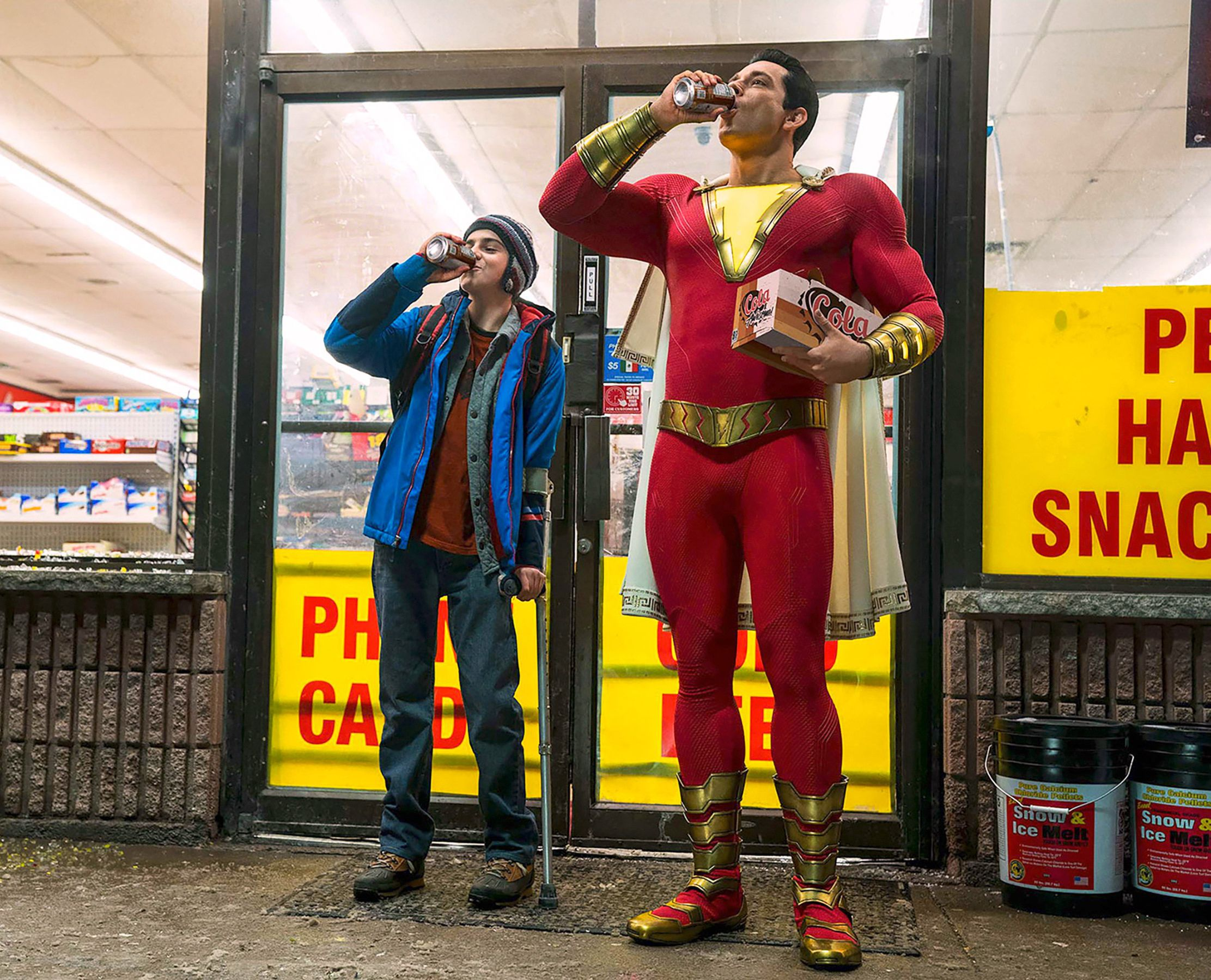 'Shazam' Star Zachary Levi Is 'Happy' His Marvel Character Died