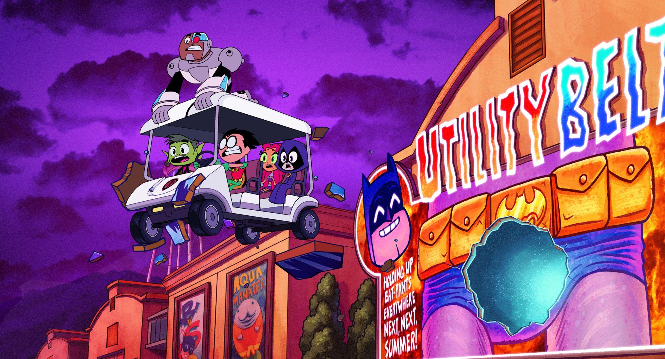Teen Titans Go To The Movies Review Madcap Superhero -9763