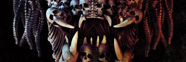 New The Predator Poster Is Full Of Skulls Collider