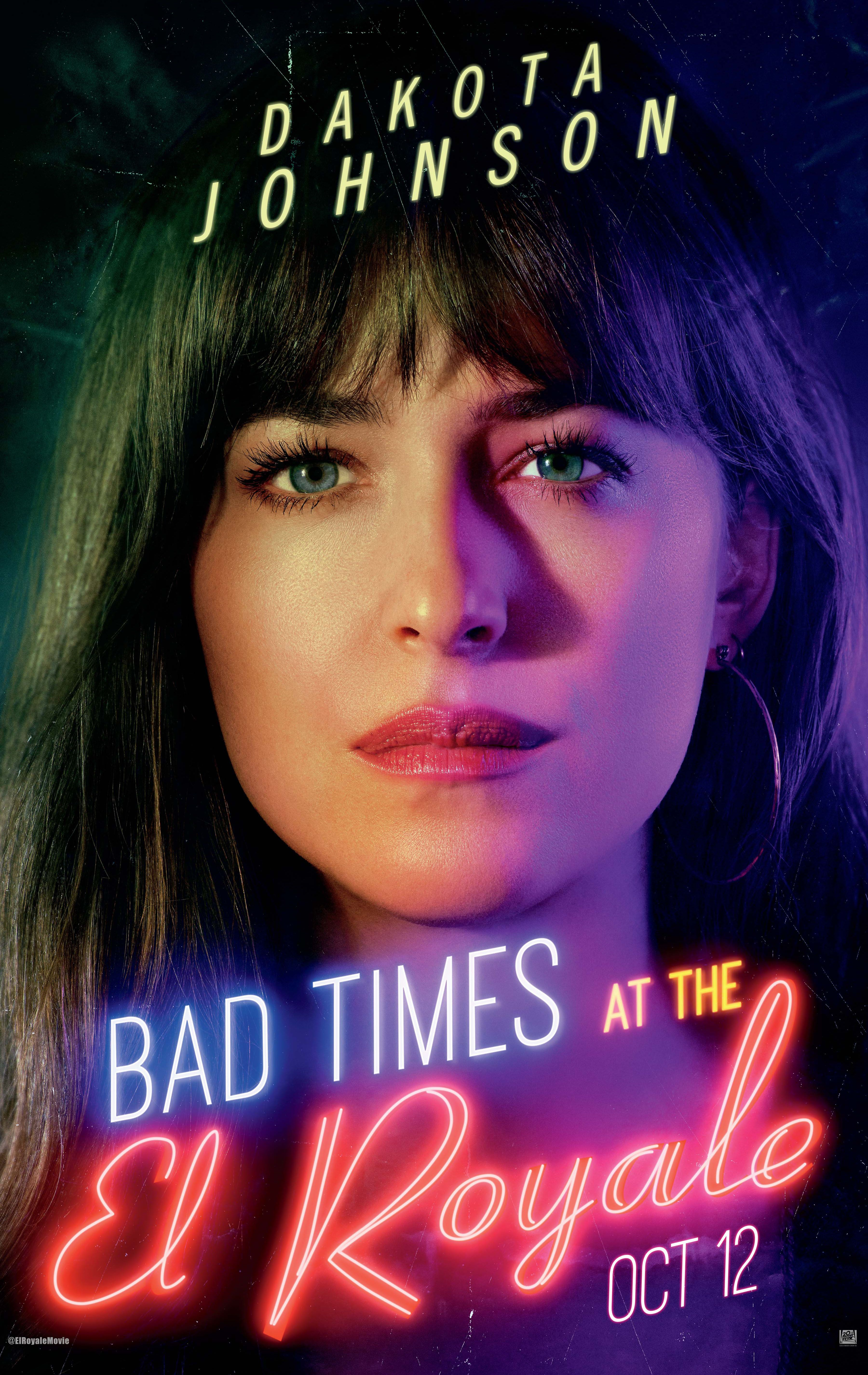 Bad Times at the El Royale Posters Reveal the Cast | Collider