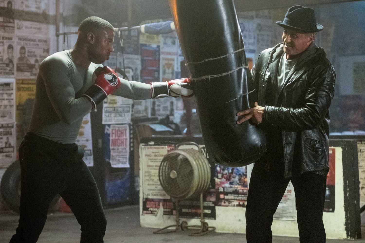 Michael B  Jordan on Creed 2 and Filming Workouts in the