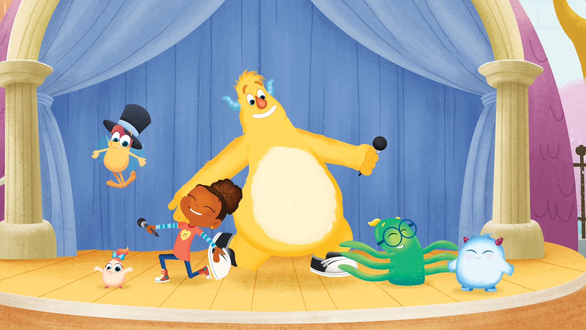 Sesame Workshop's Esme and Roy Debuts on HBO This Month