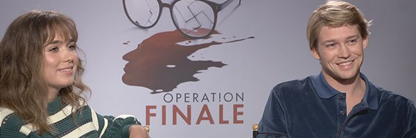joe-alwyn-haley-lu-richardson-interview-operation-finale-slice