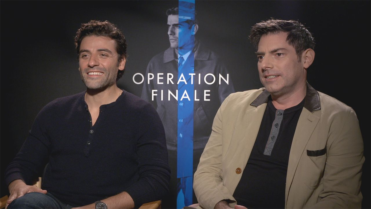 oscar isaac and chris weitz on operation finale and ben