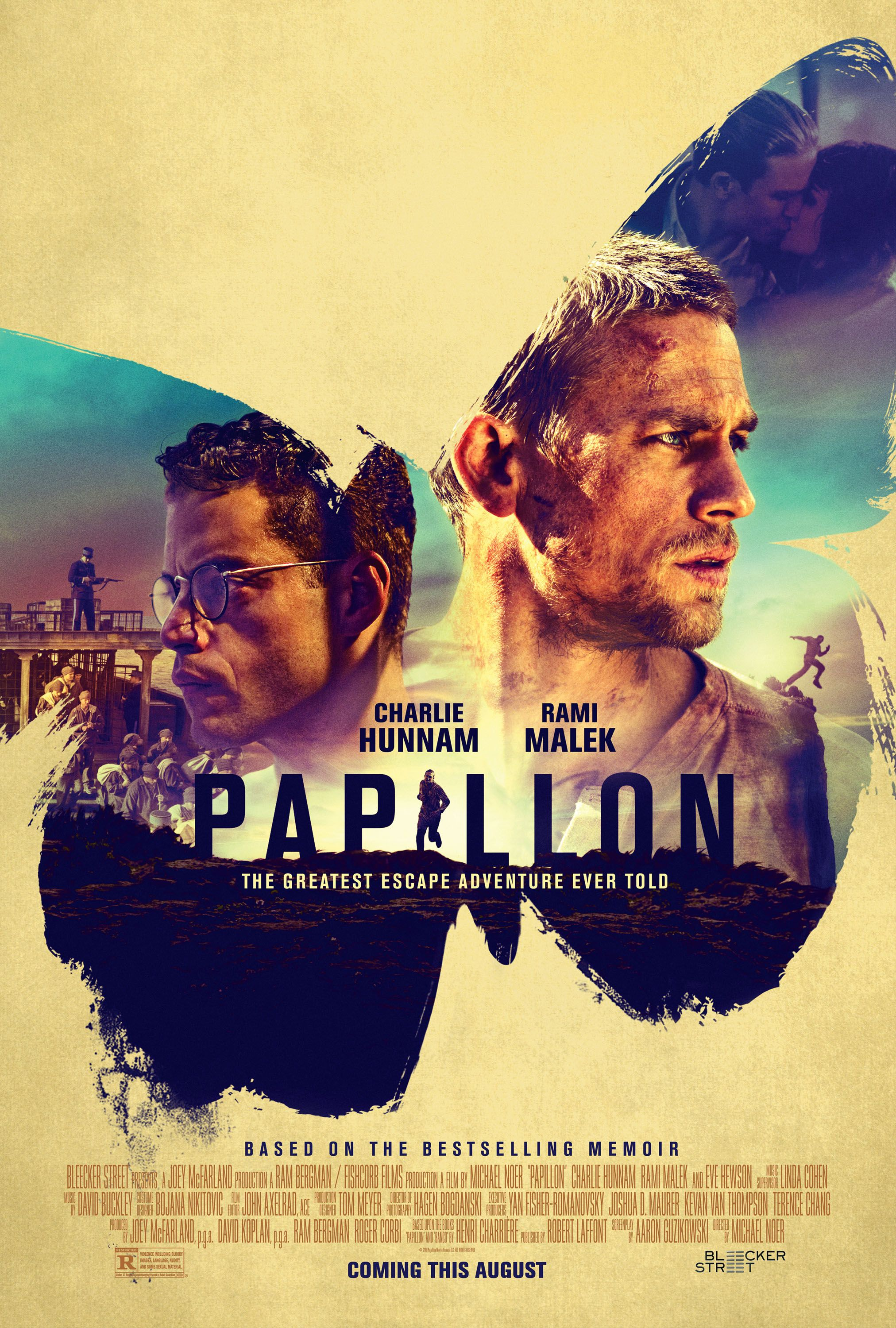 charlie hunnam on papillon and tommy flanagan collider