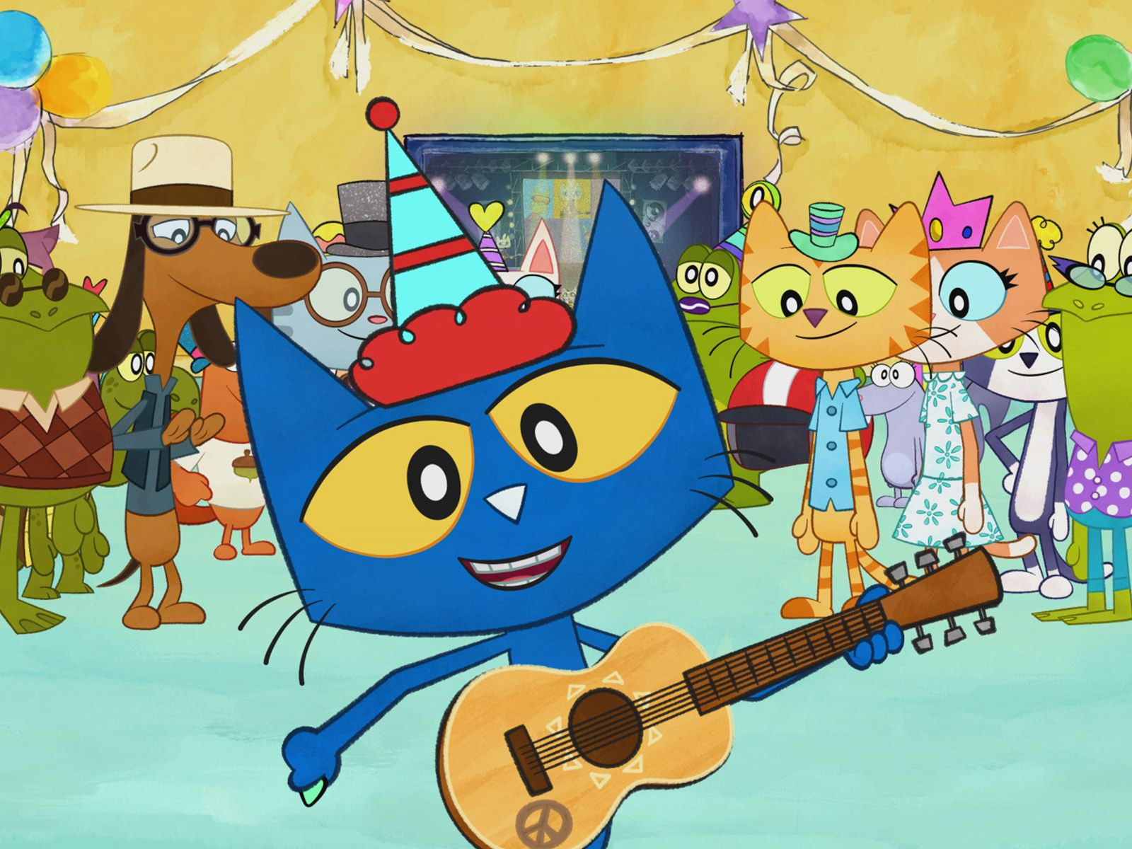 Pete the Cat Cast, Premiere Date Announced by Amazon ...