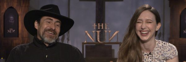 the-nun-demian-bichir-taissa-farmiga-interview-slice