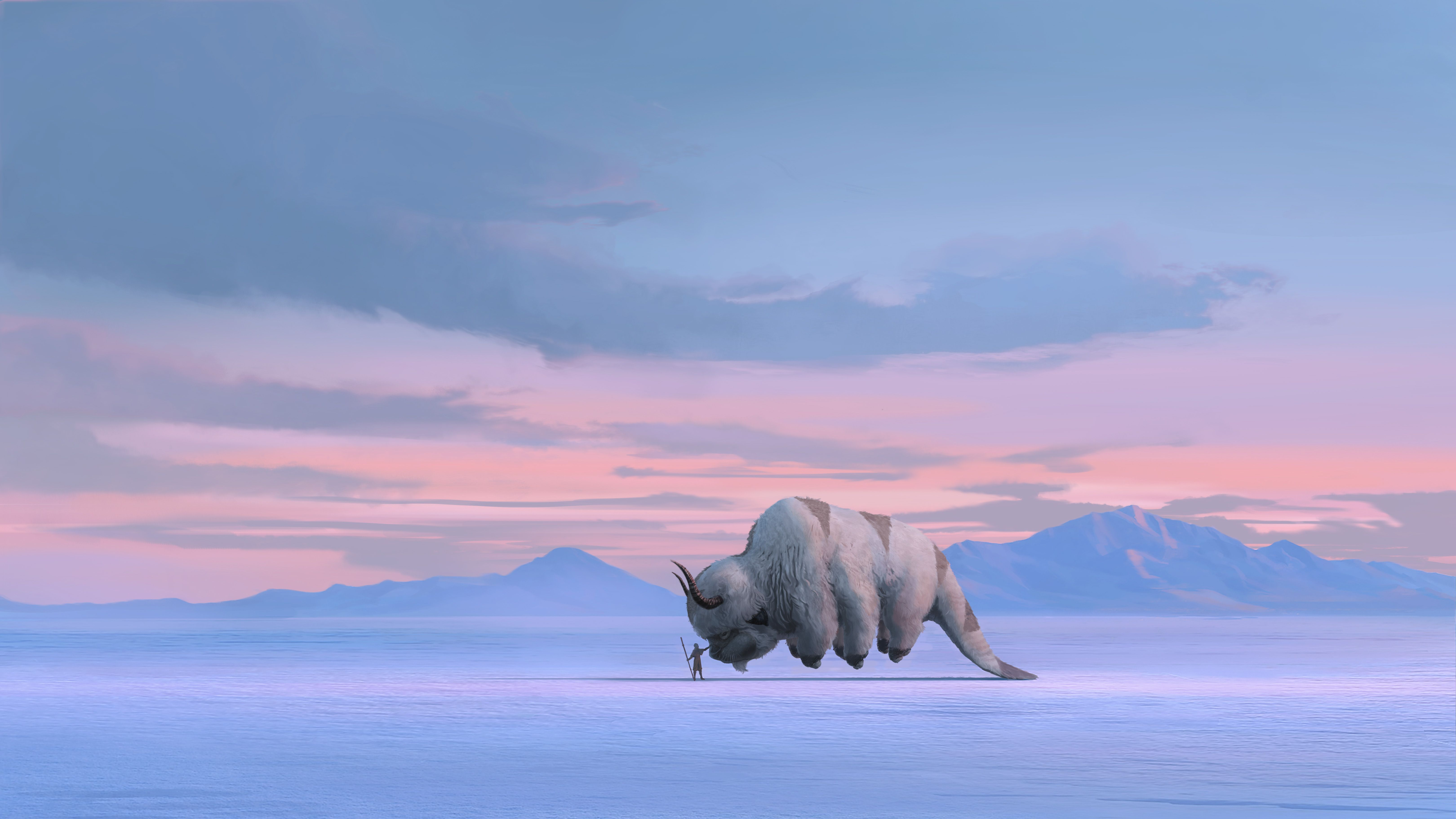 The Last Airbender' series, and the original creators are involved this time