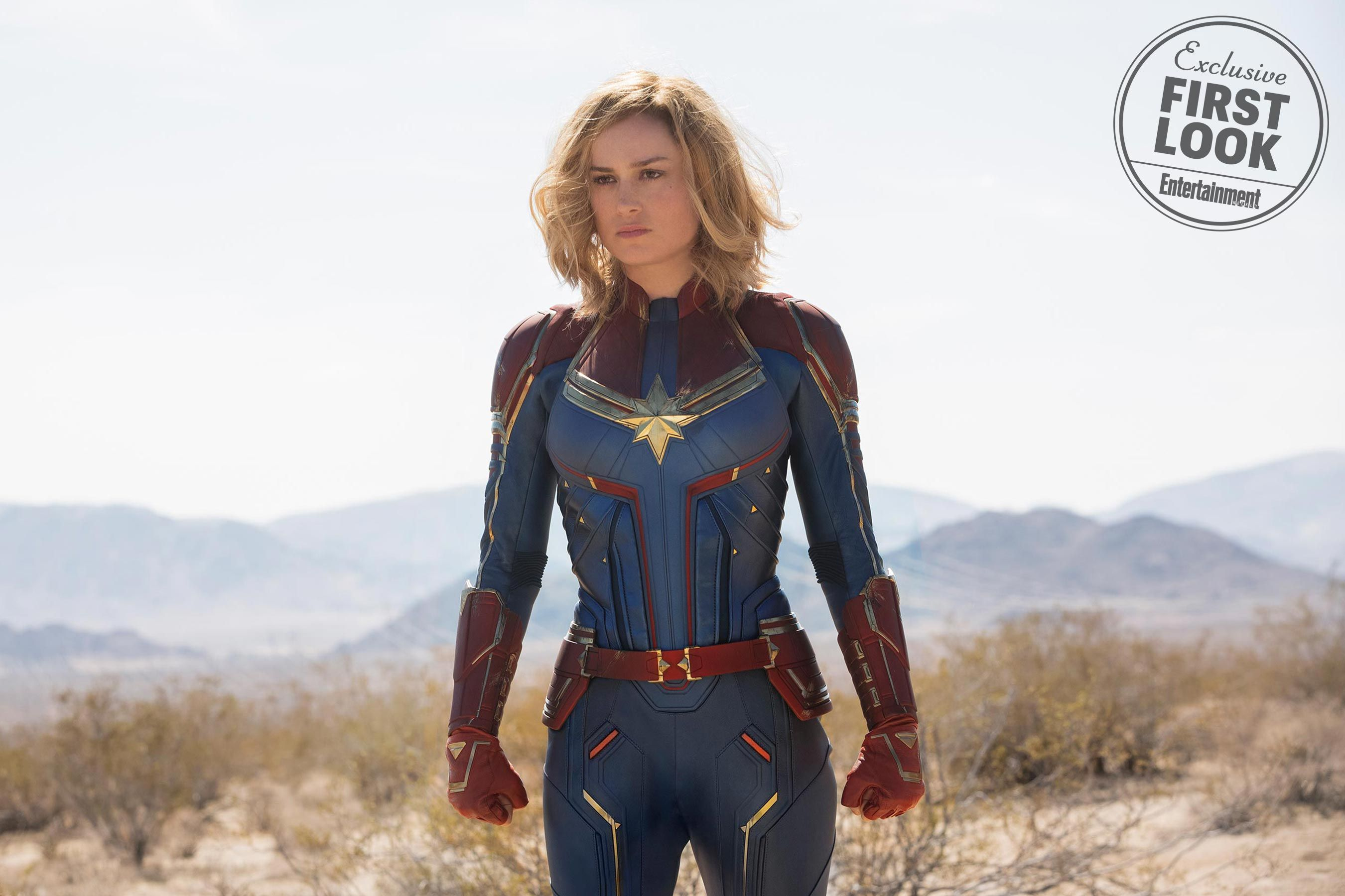 Captain Marvel Images Reveal Skrulls Talos And Young Nick Fury