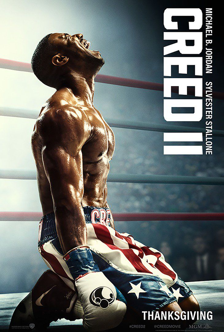 300 Full Movie >> Creed 2: New Poster Features Michael B. Jordan as Adonis Creed Johnson | Collider