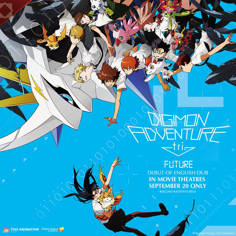 Digimon Adventure tri Future Arrives in U S  Theaters September 20th
