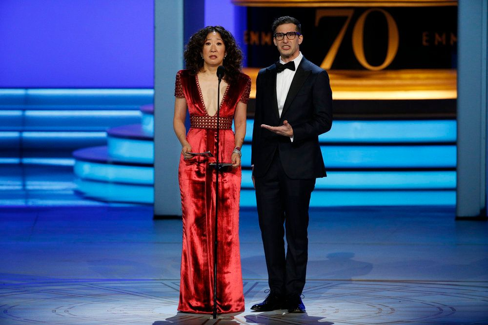 Sandra Oh And Andy Samberg To Host The 2019 Golden Globes