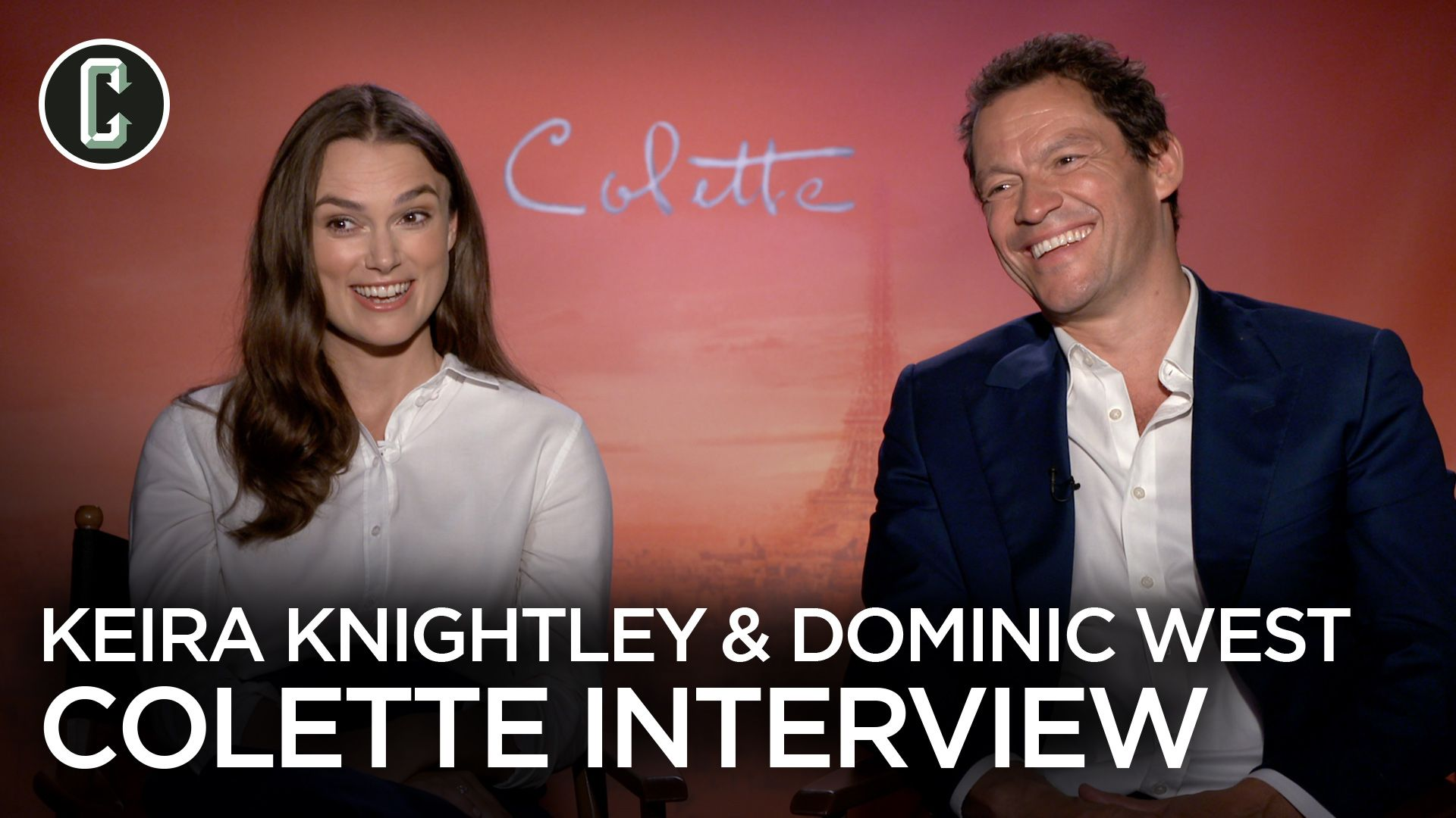 Keira Knightley And Dominic West On The Cool Hero Of Colette