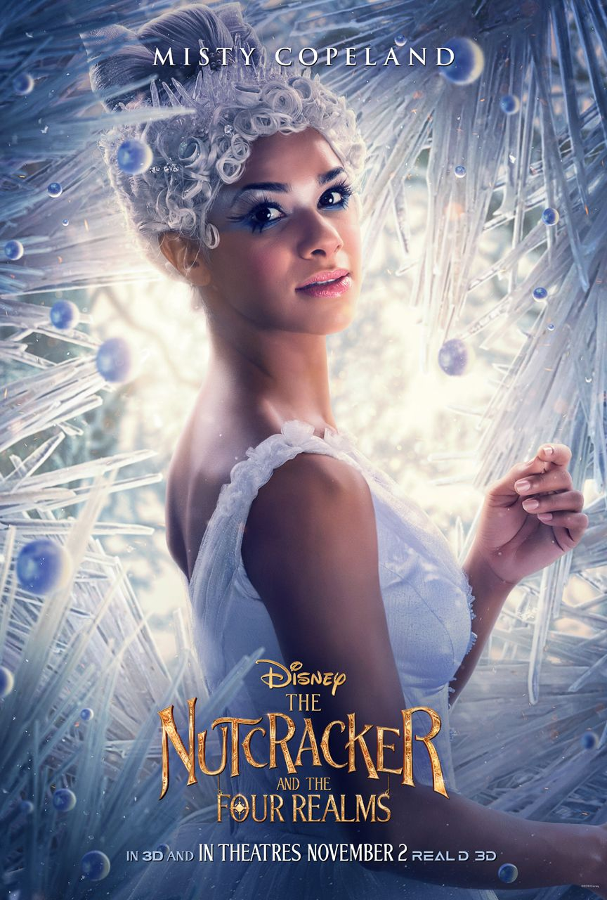 The Nutcracker Character Posters Tease a Colorful ...