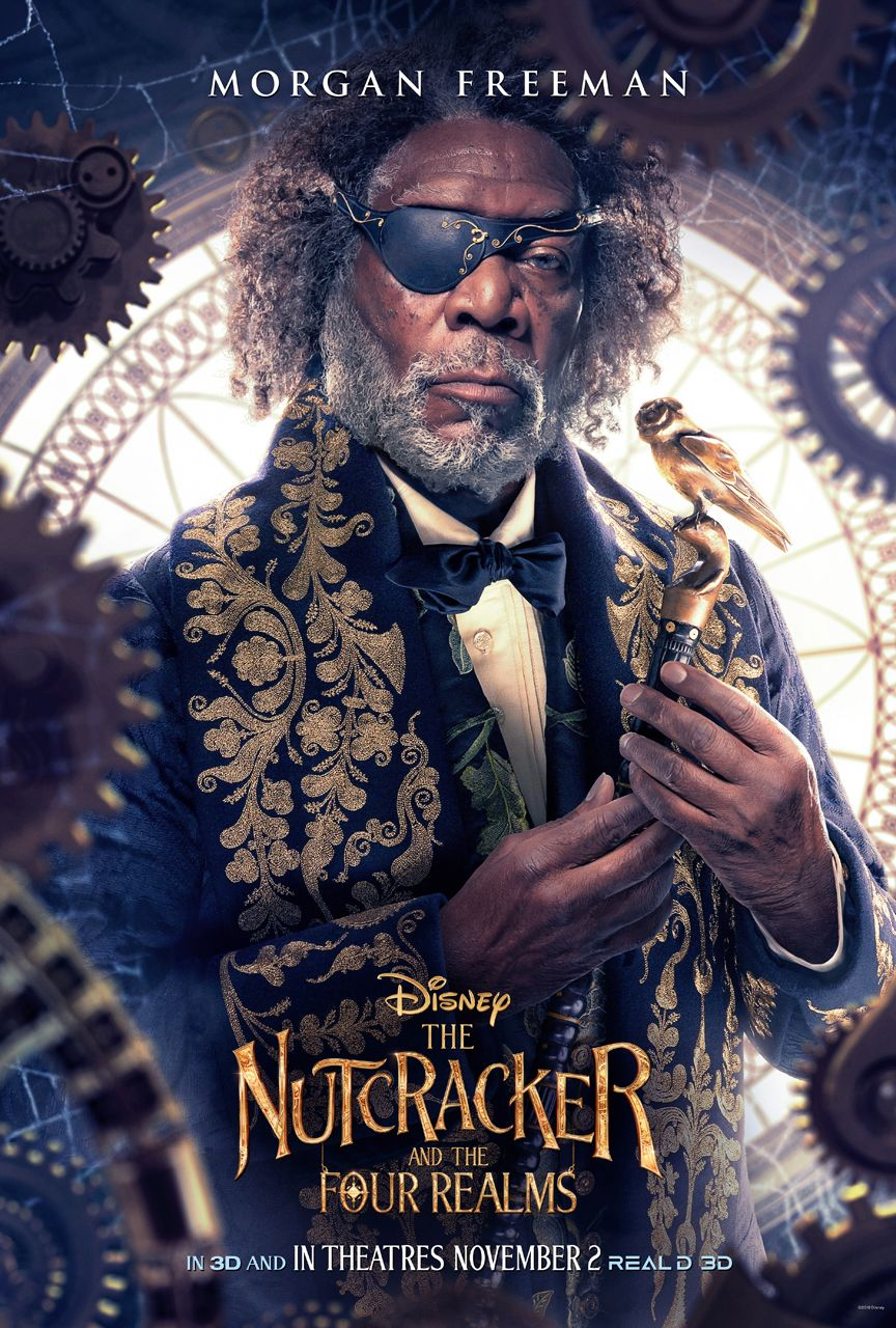 the nutcracker character posters tease a colorful