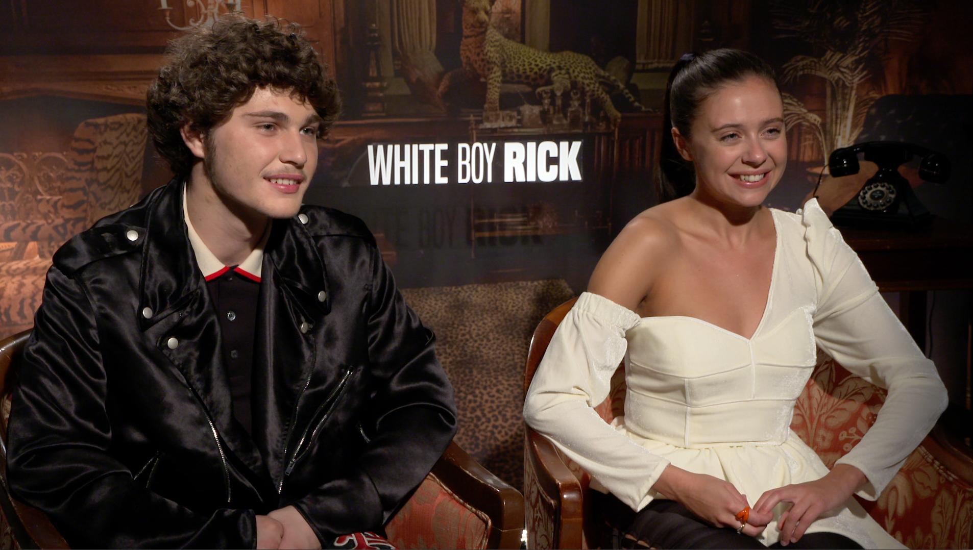 White Boy Rick Interview with Richie Merritt & Bel Powley