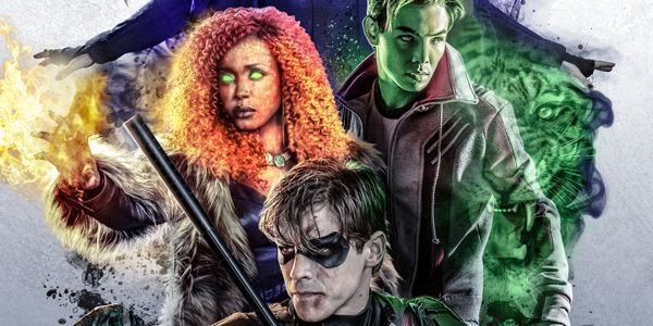 Best Tv Service >> New Titans Poster Brings the DC Universe Gang Together ...