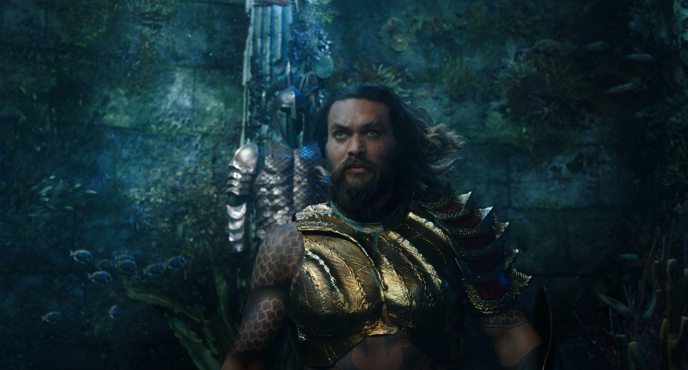 Movie Talk: 'Aquaman' Reviews Tease Epic Adventure and Dazzling Visuals