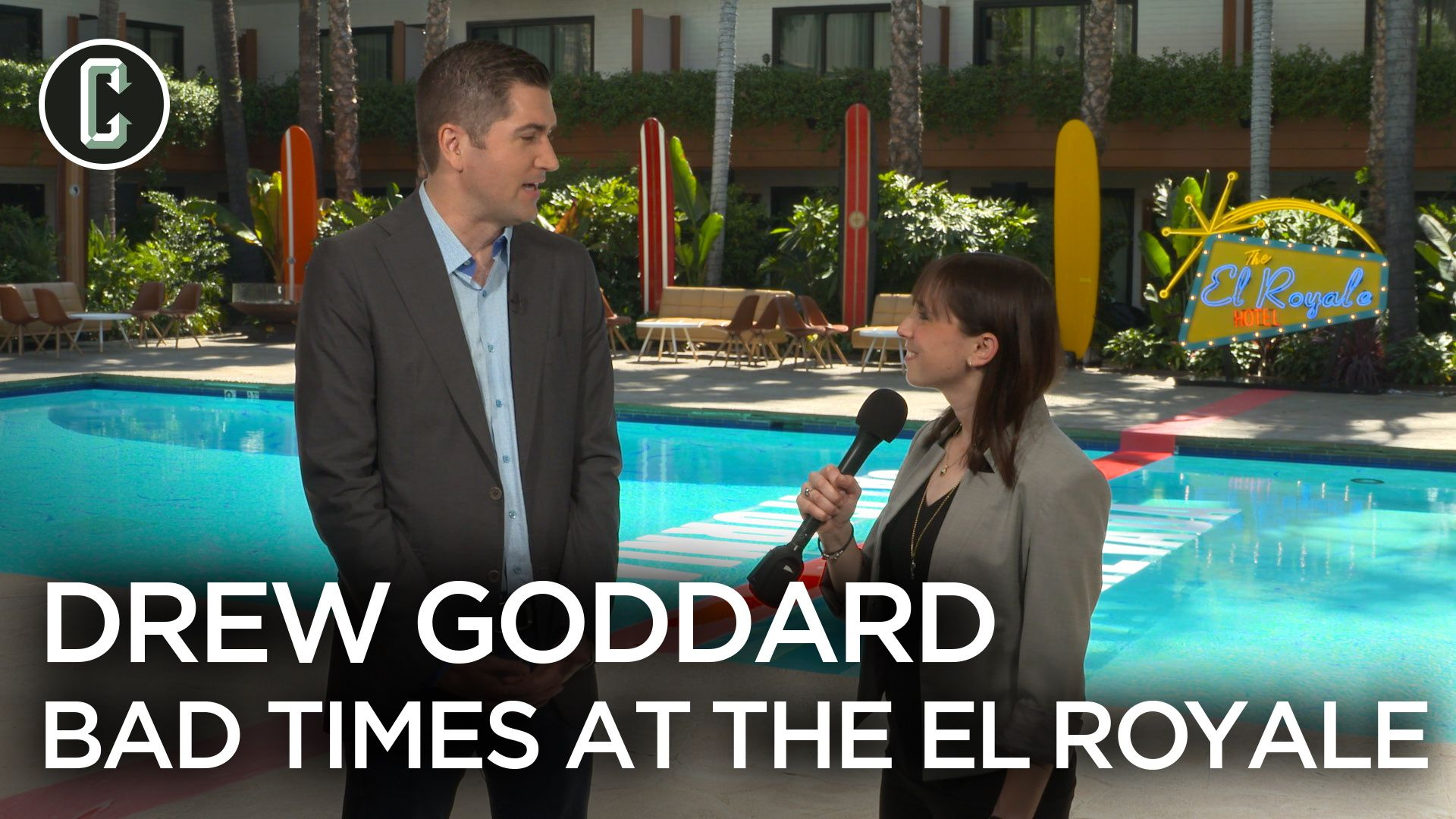 Drew Goddard on Cast-Created Key Scenes in 'Bad Times at the El Royale'