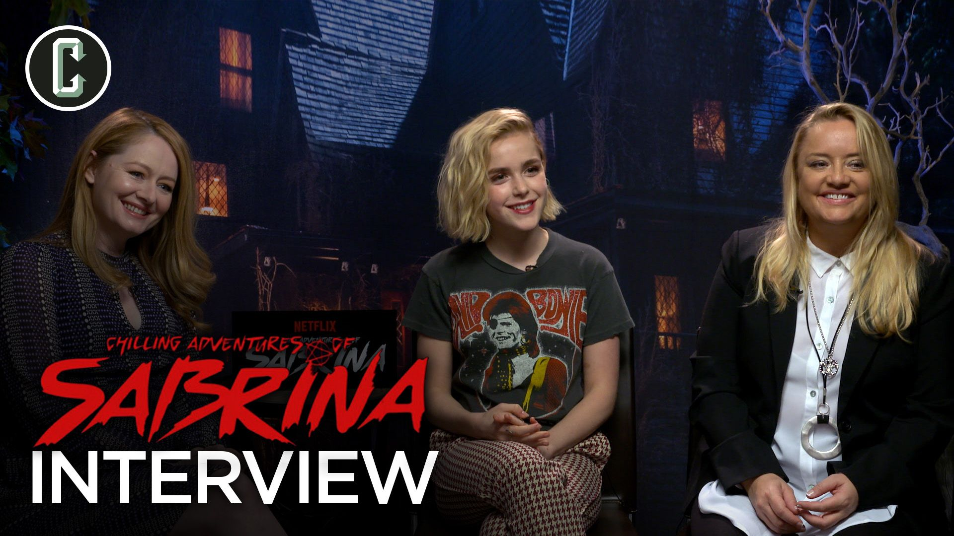 Chilling Adventures Of Sabrina Cast Interview Collider