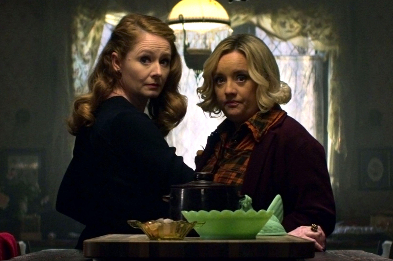 Chilling Adventures of Sabrina: Οι θείες Ζέλντα και Χίλντα