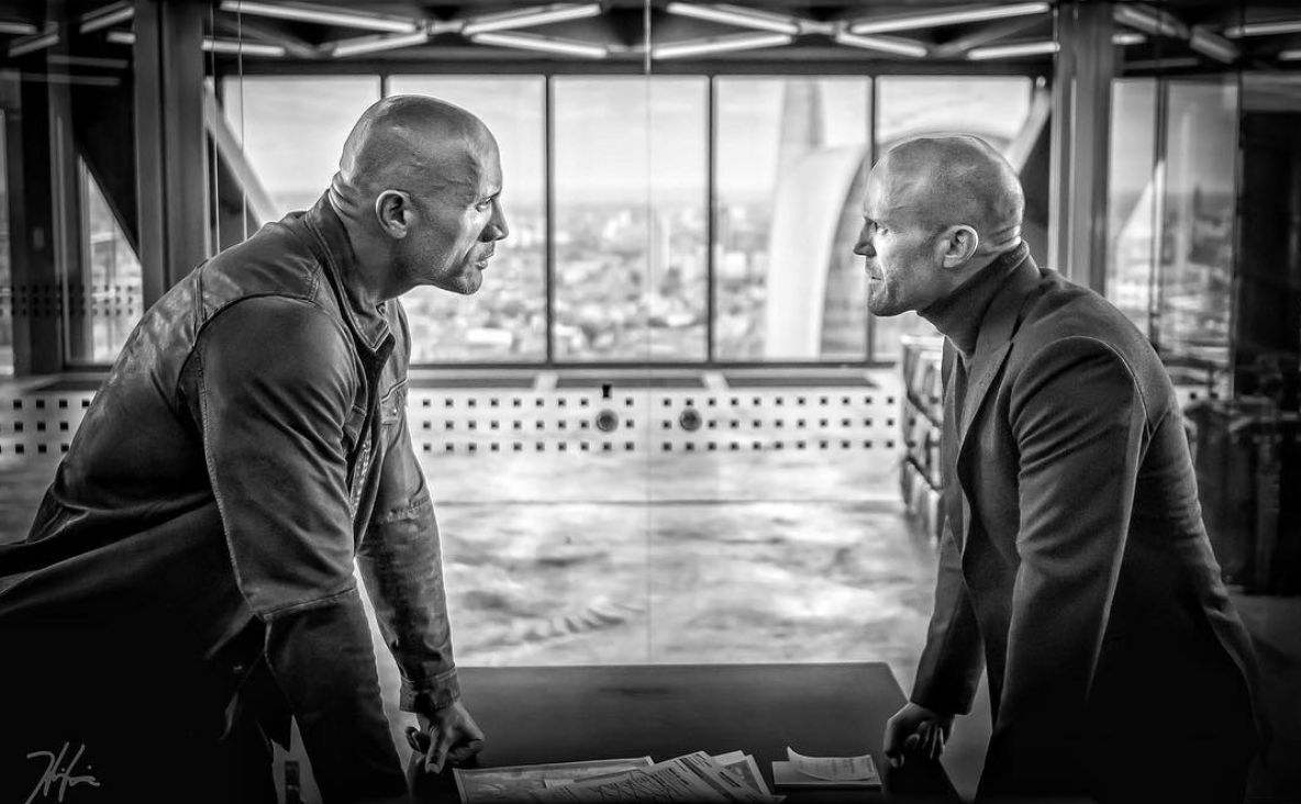 Dwayne Johnson Reveals First Look at 'Hobbs and Shaw' Back in Action