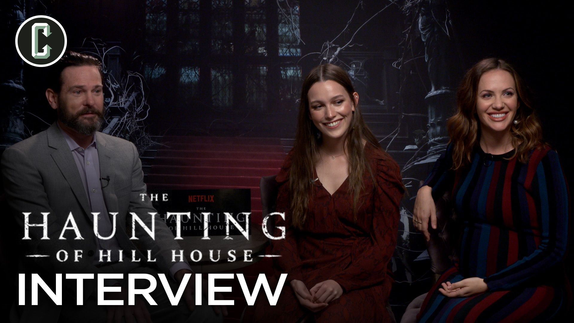 Haunting Of Hill House Cast Interview Collider
