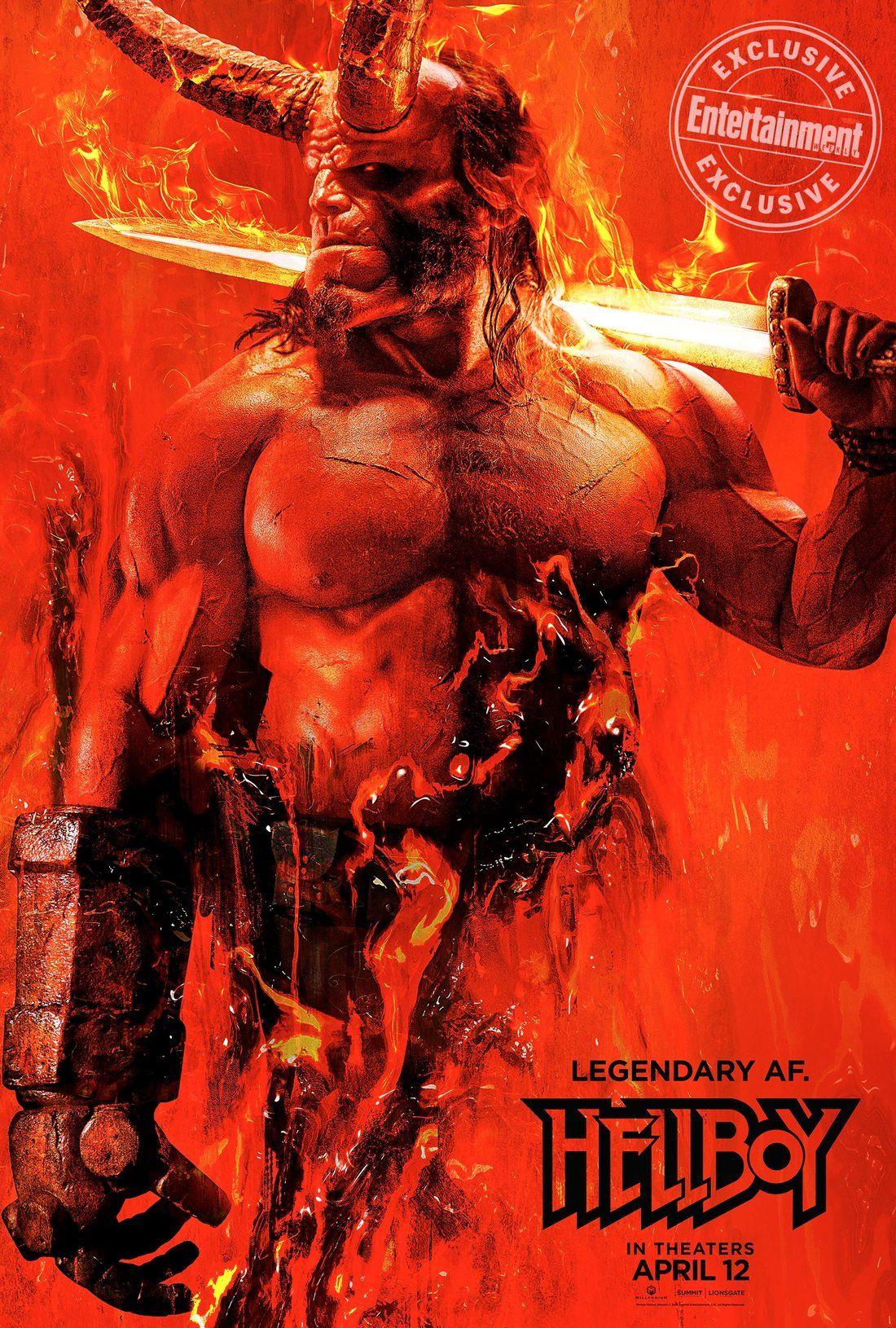 Hellboy Reboot Poster ... Milla Jovovich Movies 2004