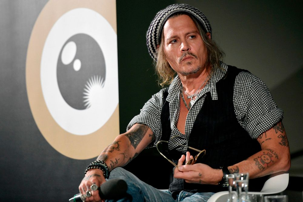 Johnny Depp on Fantastic Beasts 2 and His Iconic Roles