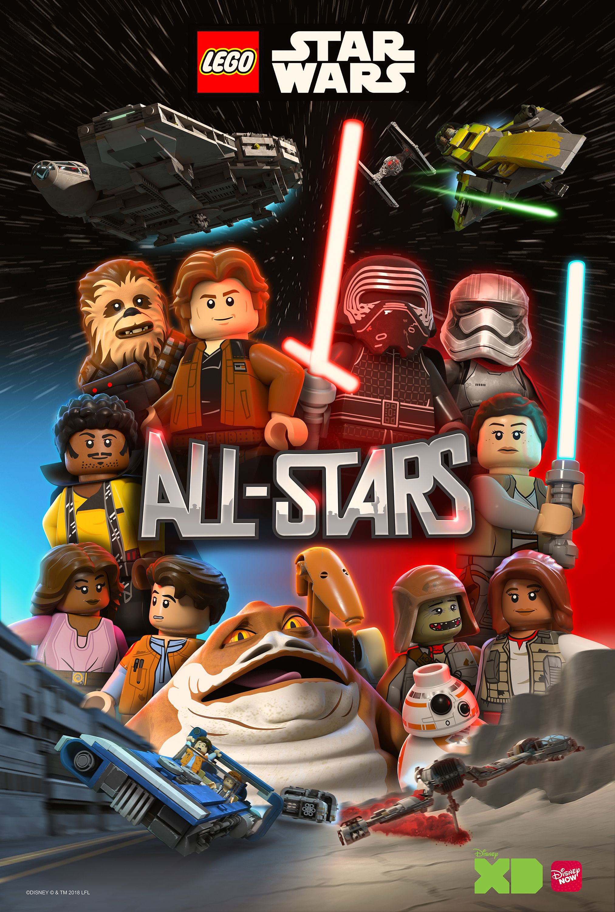 LEGO Star Wars: All-Stars Trailer Brings New And Old