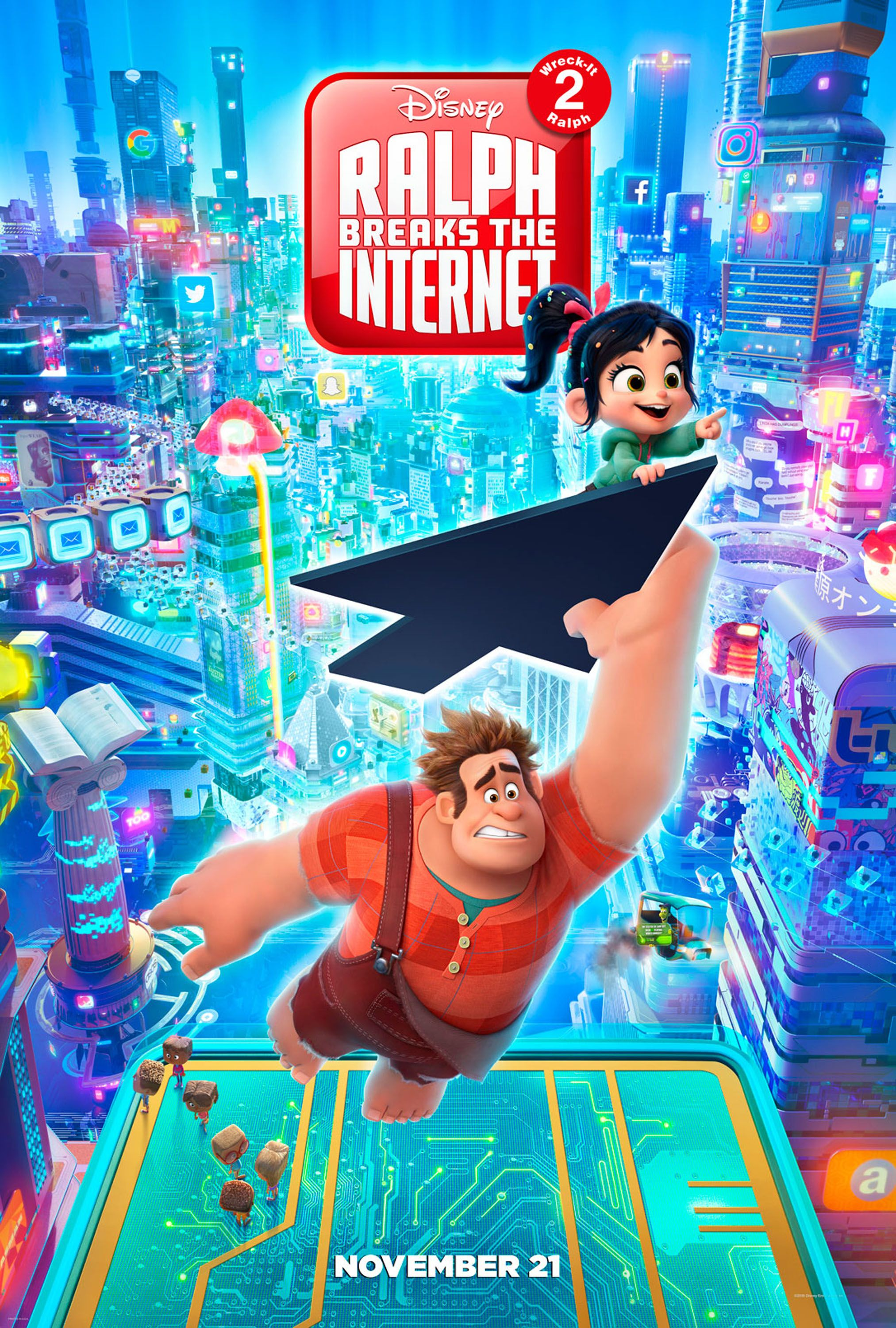 Sarah Silverman Names The Unsung Hero Of Ralph Breaks The Internet Collider