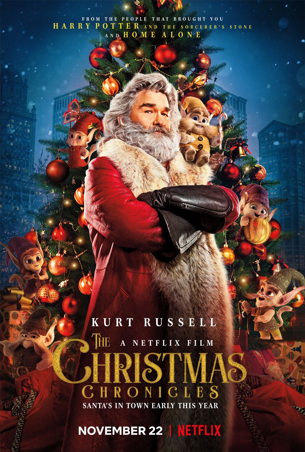 The Christmas Chronicles Trailer: Kurt Russell Is Santa in ...