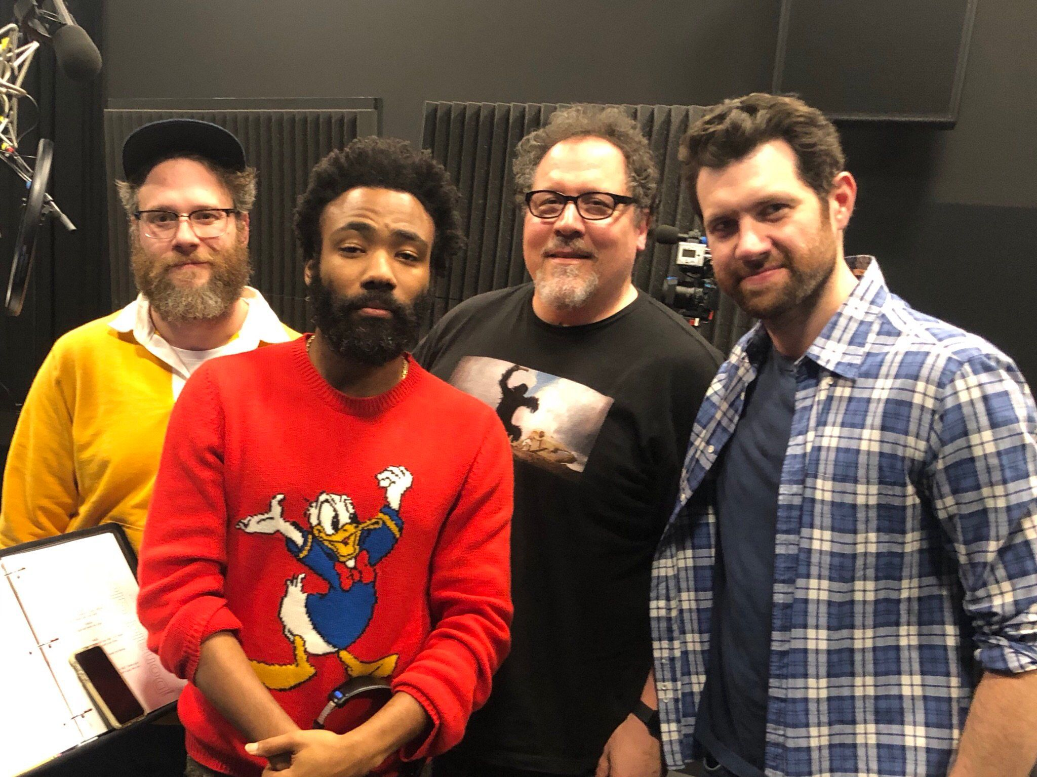 The Lion King Cast Image Includes Donald Glover And Jon