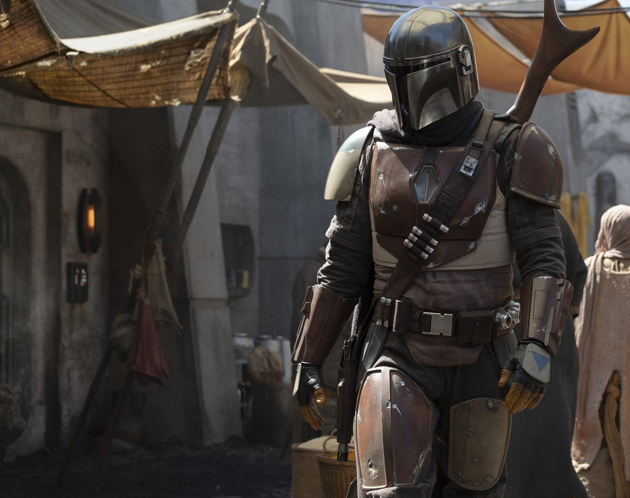 Star Wars TV series The Mandalorian reveals first photo