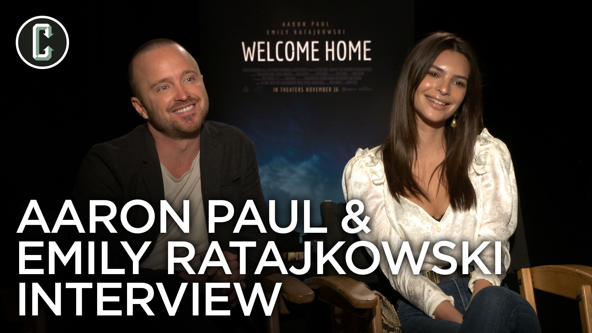 Aaron Paul and Emily Ratajkowski on Their Thriller 'Welcome Home'