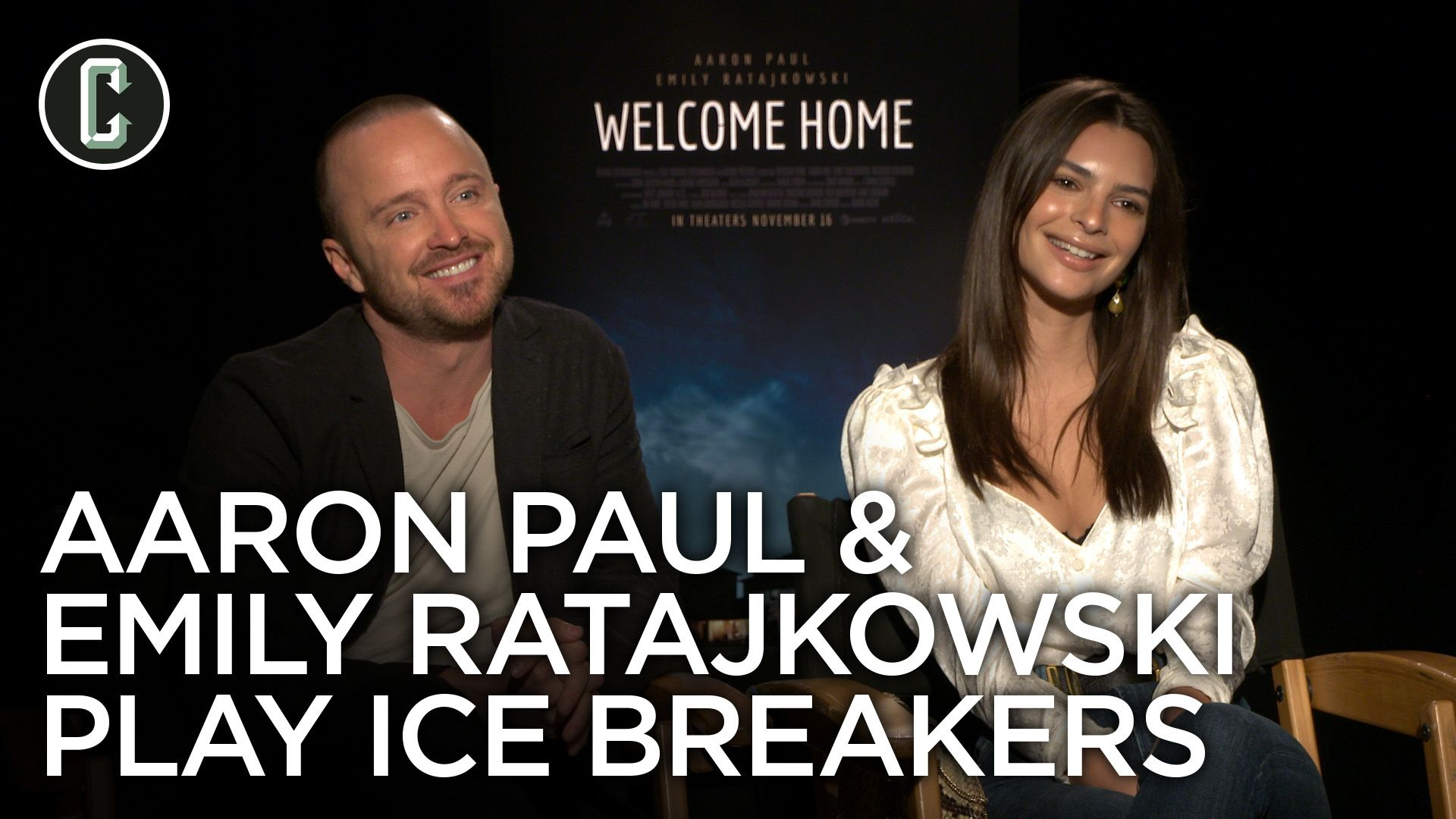 Watch: Emily Ratajkowski & Aaron Paul Nerd Out Over 'Lost' and 'Game of Thrones'