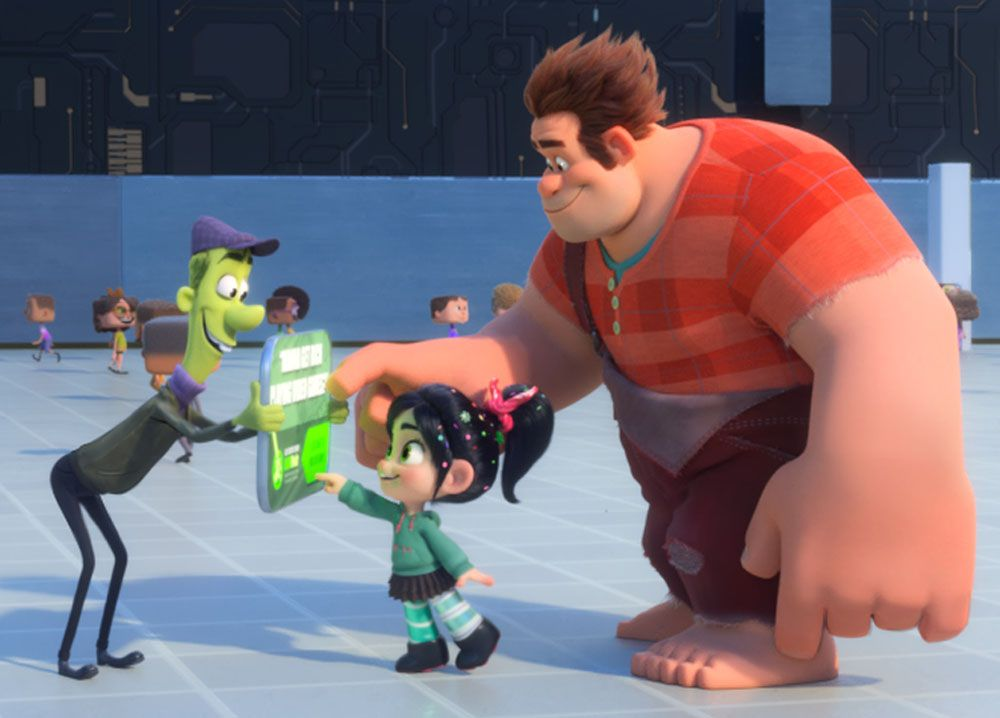 Ralph Breaks The Internet Directors On The Film S Easter Eggs Collider