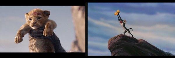 The Lion King Trailer Comparison Video Reveals Live Action